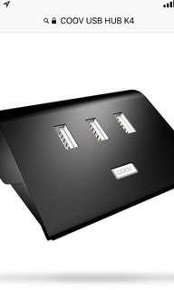Ns switch 全新 COOV USB HUB K4