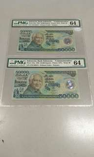 50000 Suharto running pair