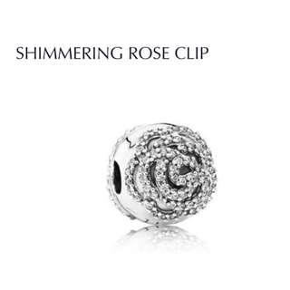 Bnis Pandora SHIMMERING ROSE CLIP