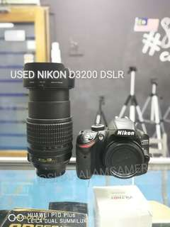 (USED) NIKON D3200 DSLR CAMERA BODY
