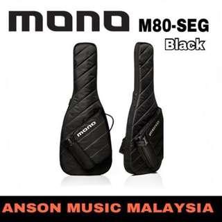 Mono M80-SEG Guitar Sleeve, Black