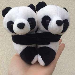 Couple Hugging Panda Soft Toy Stuffed Toy Desktop Decor #20under