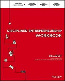 eBook - Disciplined Entrepreneurship Workbook by Bill Aulet