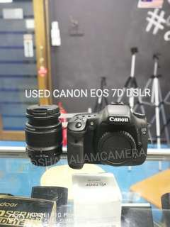 (USED) CANON EOS 7D SEMIPRO DSLR CAMERA BODY