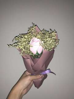 Flower Bouquet (Baby Pink)