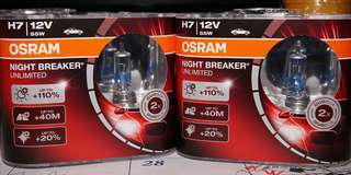 Osram H7 Nightbreaker Unlimited