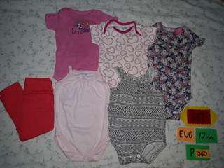 Preloved rompers etc for kids