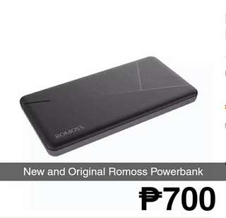 New and Original Romoss Power Bank