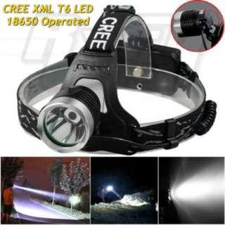 LED Headlamp Headlight Flashlight Torchlight 10W XML T6 Adjustable Head Light lamp torch