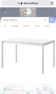 Ikea Table meletorp