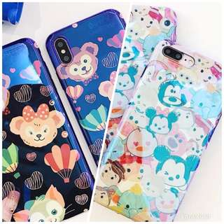 I phone 7/8 Duffy  Tsum Tsum 手機殼 電話套 殻 case 玻璃mon貼