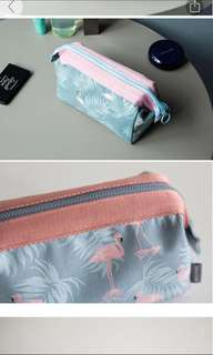 Cosmetic pouch - Flamingo