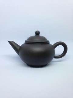 90年代黑砂六杯水平壶 Zhi Sha Teapot