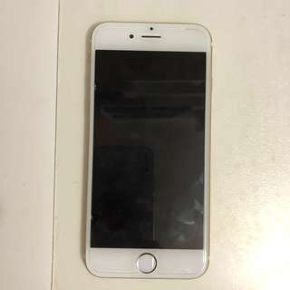 Iphone 6 Gold 64gb (new battery)