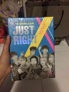 Got7 just right mini album