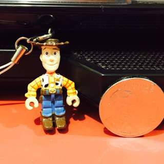 Toy Story - Woody Phone Charm
