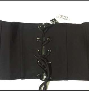 Forever 21 Corset Belt Size M