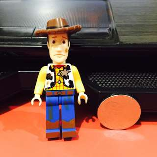 Toy Story - Wood Brick Figure