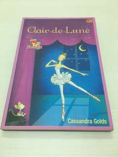 NOVEL Clair-de-Lune - Cassandra Golds