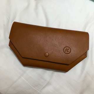 Handmade Leather Wallet / Clutch