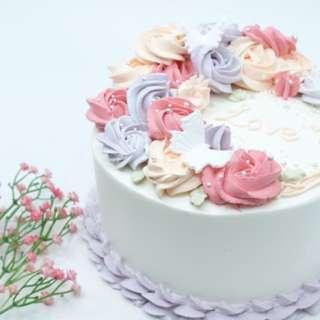 半月形花環蛋糕班
