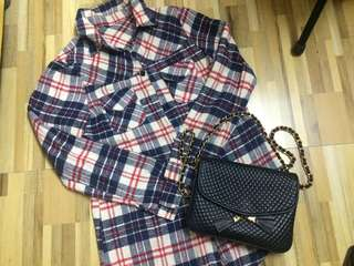 LS Checkered Polo