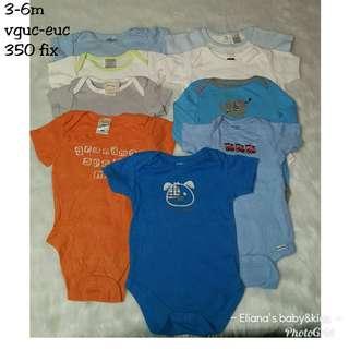 3-6m onesie set