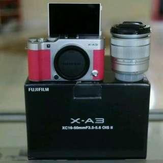 Fujifilm X-A3 plus lensa 16-50mm OIS II