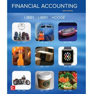 Financial Accounting 9th Ninth Edition by Robert Libby, Patricia A. Libby, Frank Hodge - McGraw-Hill Education (2016)