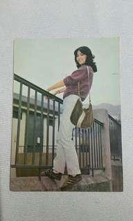 超罕!年輕鄭裕玲postcard