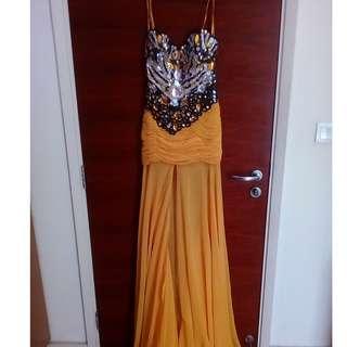 dress hand made made by designer Jason yek