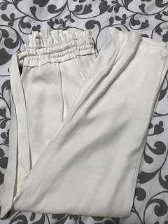 Zara drawstring trousers