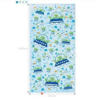 Disney 三眼怪浴巾70x140