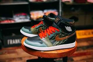 SBTG x Nike Air Jordan 1 'Feline Fury' US 9.5 BNIB