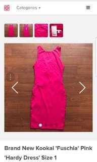 Purple/Pink kookai dress