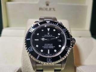 Rolex Sea Dweller ref # 116660 not panerai seiko iwc audemars piguet patek