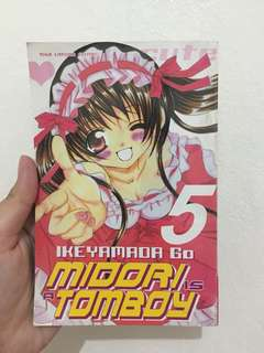 Midori Is A Tomboy Comic Volume 5