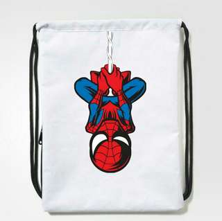 Spiderman Drawstring Bag