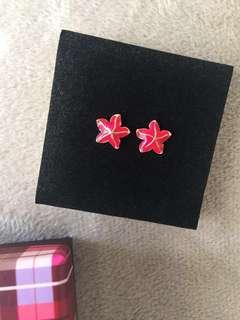 Red Starfish - Earrings