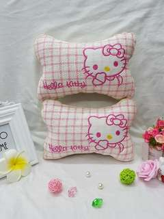 Hello Kitty Headrest Pillow (Car Accessories)