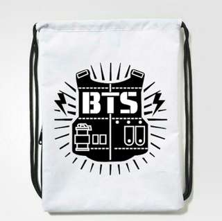 BTS Drawstring Bag