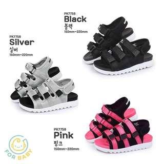 🇰🇷韓國Paperplaneskids三帶涼鞋