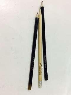Luxury Hotel Pencils set