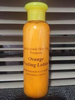 COD orange peeling lotion