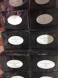 whitening black soap