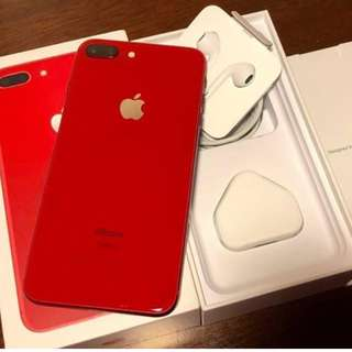 iPhone 8Plus 64gb RED EDITION 2 WEEKS OLD!