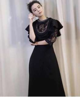 Imported Branded inspired Elegant lace dress Premium 1:1 quality