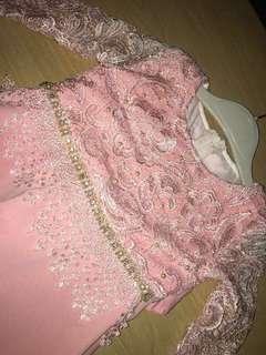 Dress lace budak yang superb cantik