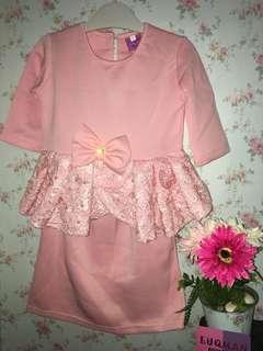 Baju Kurung Peplum (baju raya)