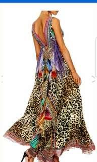 Camilla kingdom calls v neck maxi dress